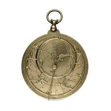 The Chaucer astrolabe, c. 1326